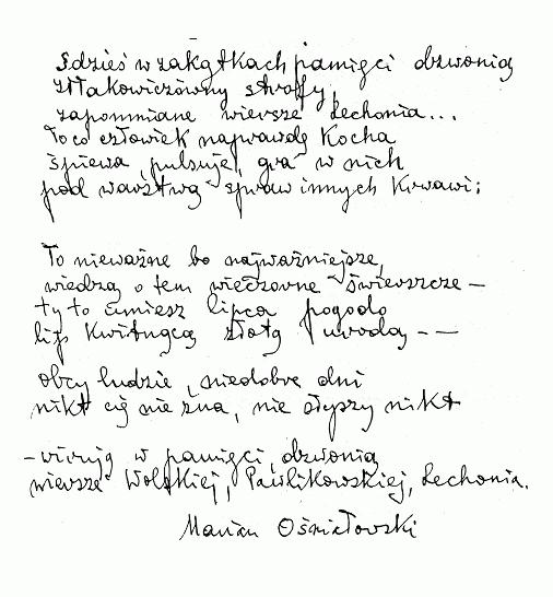 O Marianie Ośniałowskim